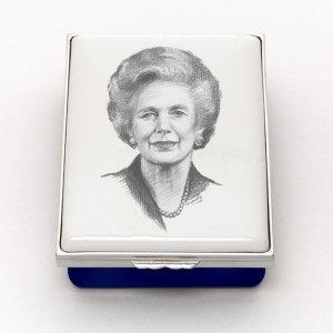Lady Thatcher Halcyon Days Box